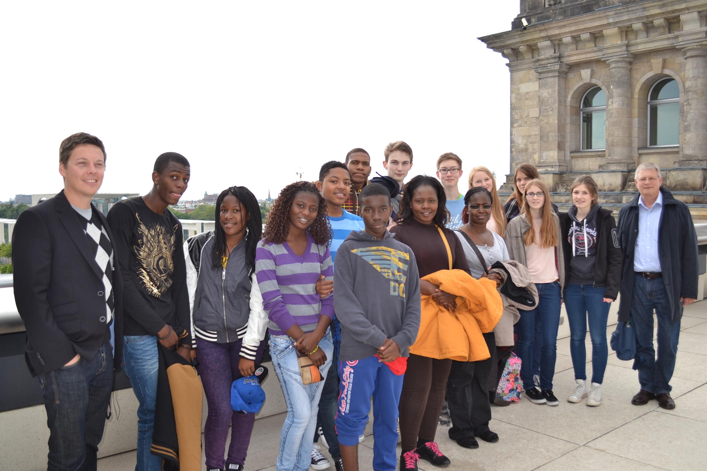 Namibia-Gruppe 2014 Berlin