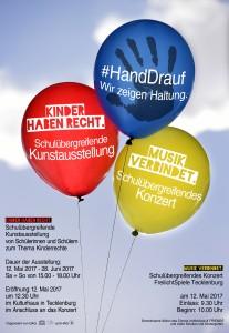 Plakat #HandDrauf 2MB